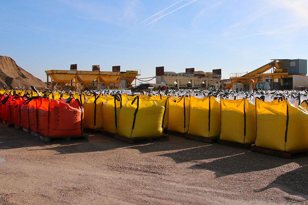 Bigbag de granulats big bag de sable et graviers sac ou bigbag dans la Marne