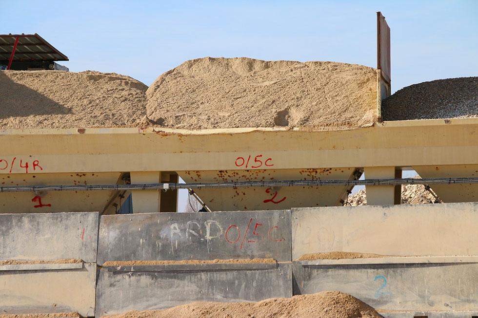 Granulats sables et graviers gros oeuvre dans la Marne